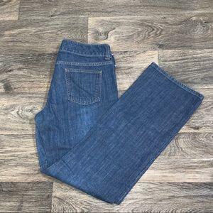 BANANA REPUBLIC women's straight leg jeans size 10